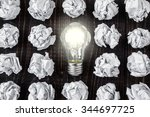 light bulb | Shutterstock . vector #344697725