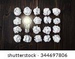 light bulb | Shutterstock . vector #344697806