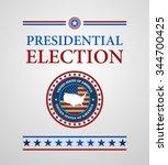 voting symbols vector design... | Shutterstock .eps vector #344700425