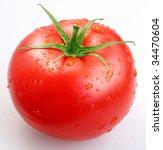 Tomato Isolated On A White...