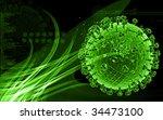 digital illustration of... | Shutterstock . vector #34473100
