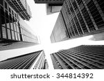 buildings low angle view   Shutterstock . vector #344814392