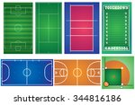 Sport Courts And Fields. Can B...