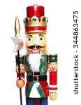 christmas nutcracker king... | Shutterstock . vector #344863475