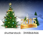 christmas background. abstract... | Shutterstock .eps vector #344866466