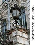 old fashioned gaslight | Shutterstock . vector #34487053