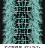 Reptile Skin  Seamless Pattern...