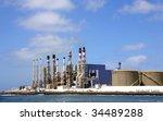 desalination plant | Shutterstock . vector #34489288