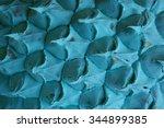 blue pineapple texture...   Shutterstock . vector #344899385