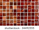 small  modern tiles with a deep ... | Shutterstock . vector #34492555