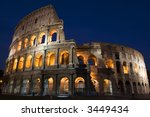 colosseo  rome | Shutterstock . vector #3449434