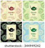 set of vector illustrations of... | Shutterstock .eps vector #344949242