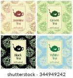 set of vector illustrations of... | Shutterstock .eps vector #344949242