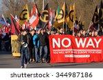 spielfeld  austria   november... | Shutterstock . vector #344987186