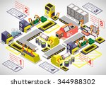 illustration of info graphic... | Shutterstock .eps vector #344988302