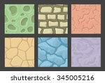 Ground Seamless Game Patterns...