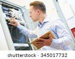 networking service. network... | Shutterstock . vector #345017732