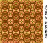 Teardrop Floral Design...