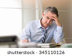 Frustrated Stressed Business...