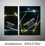 abstract colorful shining.... | Shutterstock .eps vector #345127562