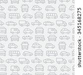 car seamless pattern | Shutterstock . vector #345168275