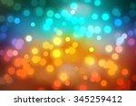 bokeh light  shimmering blur... | Shutterstock . vector #345259412
