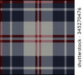textile fabric tissue plaid... | Shutterstock .eps vector #345270476