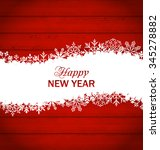 illustration happy new year... | Shutterstock .eps vector #345278882