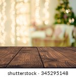 christmas holiday background... | Shutterstock . vector #345295148