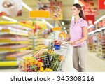 supermarket.   Shutterstock . vector #345308216