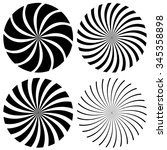 Abstract Spiral Graphics In...