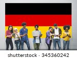 germany country flag... | Shutterstock . vector #345360242