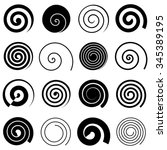 Set Of Simple Spiral Elements ...
