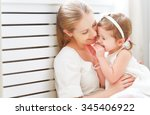 happy loving family. mother and ...   Shutterstock . vector #345406922