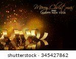 christmas holidays background | Shutterstock . vector #345427862