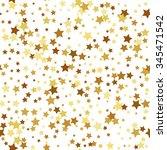 gold star seamless pattern   Shutterstock . vector #345471542