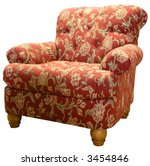 Country Style Club Chair  In A...