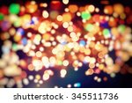 abstract festive background.... | Shutterstock . vector #345511736