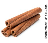 Cinnamon Stick Spice Isolated...