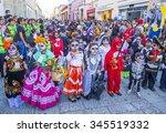 oaxaca   mexico    nov 02  ... | Shutterstock . vector #345519332