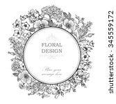 Floral Frame With Summer...