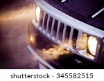 Headlights And Chrome Grille O...