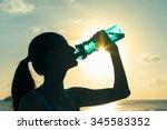 feeling thirsty. | Shutterstock . vector #345583352