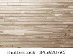 wood plank brown texture... | Shutterstock . vector #345620765