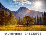 Sunrise On Half Dome  Yosemite...