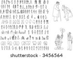 vector set | Shutterstock .eps vector #3456564