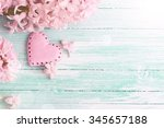 Background  With Fresh Flowers...