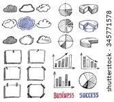 business icon set | Shutterstock . vector #345771578