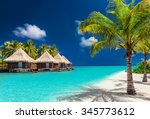 Over Water Bungalows On A...
