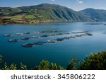 Fish Farms On The Kizilirmak...